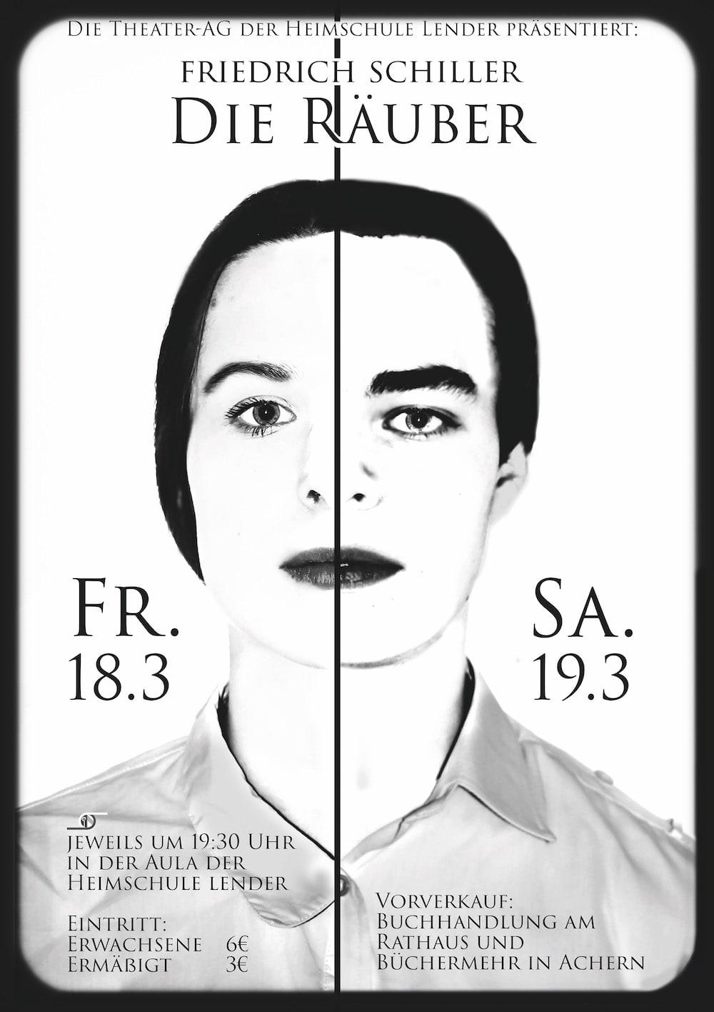 Plakat Räuber-min